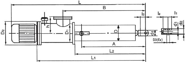 直式微型电液推gan